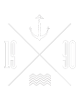 1990 logo with anchor and waves